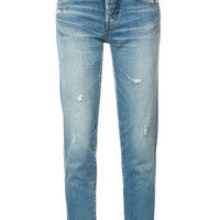 Moussy Tapered Cropped Jeans - Farfetch