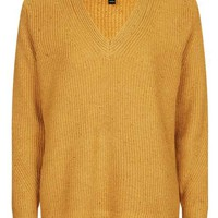 Fisherman Ribbed V-Neck Jumper - New In This Week - New In