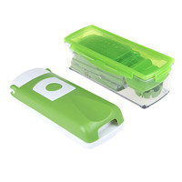 12pcs Multifunctional Kitchenware Set Vegetable Fruit Slicer Container Chopper Dicer Cutter Peeler Kitchen   Utensil Tool Kit