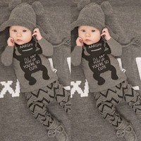 Cartoons Infant Long Sleeve Bottom & Top [9283980420]