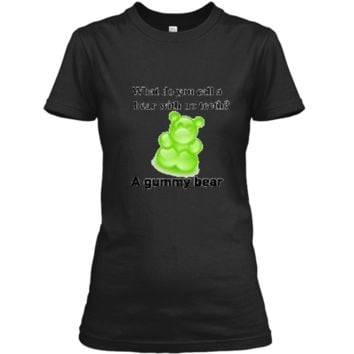 Joke T-Shirt Funny Parody Gummy Bear Prank unisex-child Kids Ladies Custom