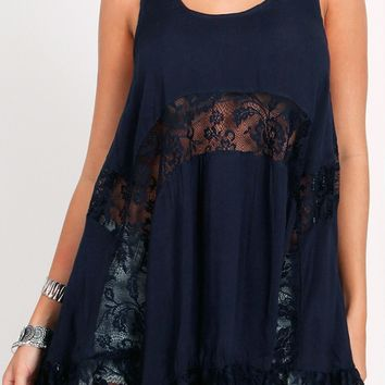 Belmont Lace Detail Dress | Threadsence