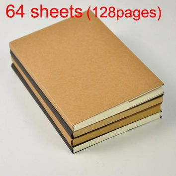 32K Retro Sketch Paper Blank environmental friendly Notebook Sketch Drawing Book Journal Personal Diary Note Stationery
