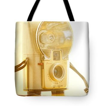 "Kodak Brownie Starflash Camera Tote Bag 18"" x 18"""