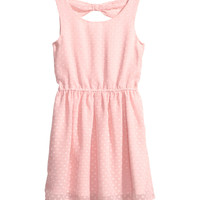 H&M - Chiffon Dress - Light pink - Kids