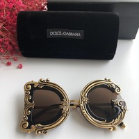 D&G Woman Men popular Summer Sun Shades Eyeglasses Glasses Sunglasses