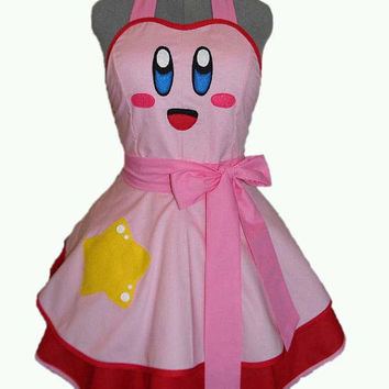 Kirby Retro Apron