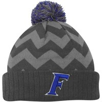 Florida Gators Top of the World Women's Chevron Knit Hat – Gray