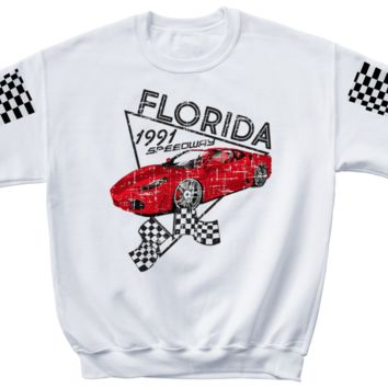 FLORIDA MOTO Crewneck sweater