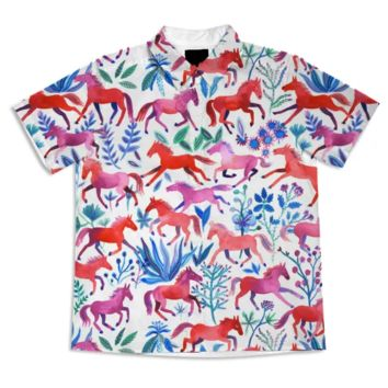 Red Pony Blouse