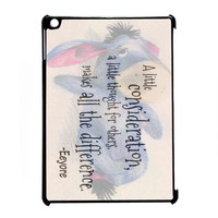 Eeyore Donkey Quotes for iPad Air CASE *RA*