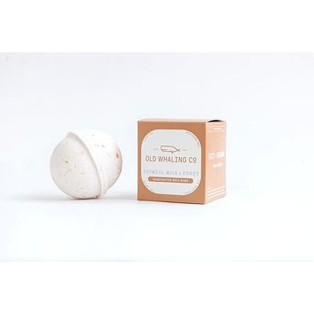 Old Whaling Co. - Oatmeal Milk + Honey Bath Bomb