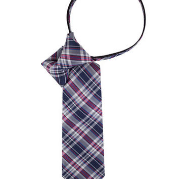 Lord & Taylor Kids Boys 2-7 Plaid Silk Tie