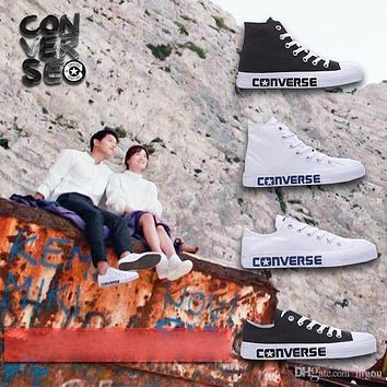 Original Converse Descendants of the Sun Shoes For Song Joong Ki Song Hye Kyo Men Women Running Sneakers High & Low Cut Skate Canvas Shoe