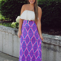Wandering Love Maxi Skirt