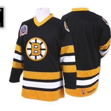 DCCKU62 Mitchell Ness 19890 Authentic Jersey Boston Bruins In Black