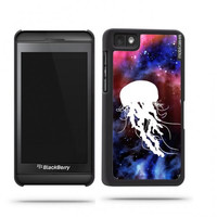 Jelly Fish In Space Nebula Galaxy Blackberry Z10 Case - For Blackberry Z10