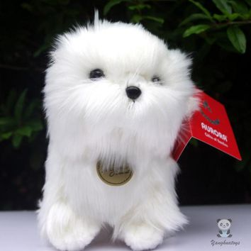 Pomeranian Dog Stuffed Animal Plush Toy 8""