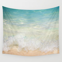 Sudden Clarity Wall Tapestry by Jenndalyn