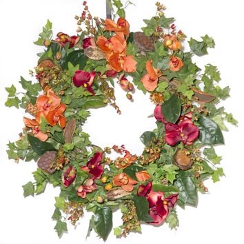 Autumn Orchid & Berry - Everyday Wreath (FW963)