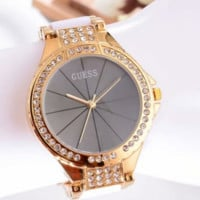 GUESS shining rhinestone hot watch for girls