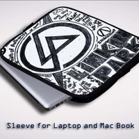 Linkin Park 2 Sleeve for Laptop, Macbook Pro, Macbook Air (Twin Sides)