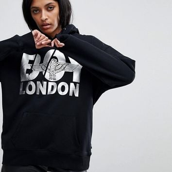 Boy London Eagle Logo Hoodie at asos.com