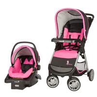 Disney Baby Amble Quad Travel System with OnBoard 22 Infant Car Seat - Minnie