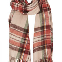 Warm Handle Check Scarf - New In This Week  - New In