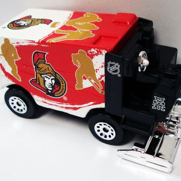 Ottawa Senators Mini 1:50 Scale Hockey Zamboni