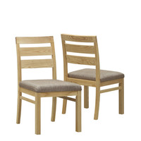 """Natural 35""""H Dining Chairs (Set of 2)"""