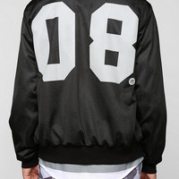 Civil 08 Mesh Bomber Jacket - Urban Outfitters