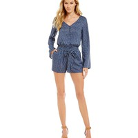 Sanctuary Naomi Long Sleeve Romper | Dillards