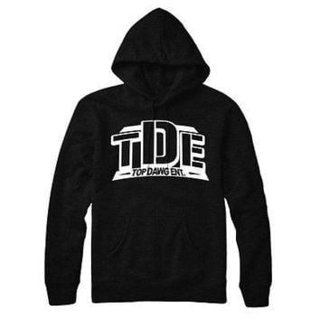 Kendrick Kdot TDE Top Dog  Hip Hop Pull Over Hoodie