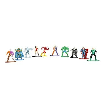 Jada Nano Figures DC Wave 1- 10 Pack