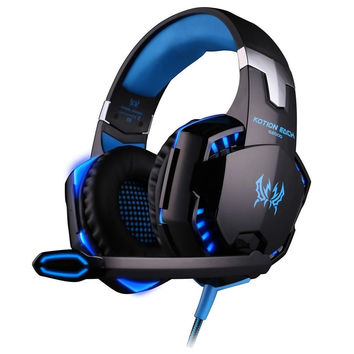 EACH G2000 Gaming Headset PC Gamer Stereo Surrounded Sound Deep Bass Over-Ear Gaming Headphone With Mic For Computer Game