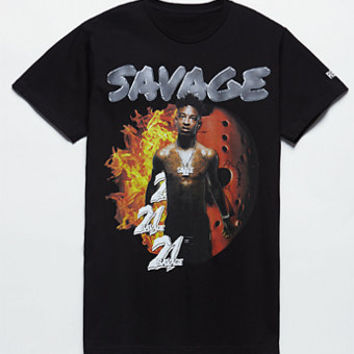 Young & Reckless x 21 Savage No Target T-Shirt at PacSun.com
