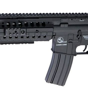 ARMALITE M15 W/ A.R.M.S. LICENSED SELECTIVE INTEGRATED RAIL SPORTLINE AIRSOFT RIFLE