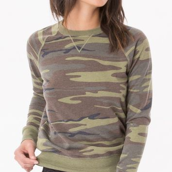 The Camo Crew Pullover (Multiple Colors Available)