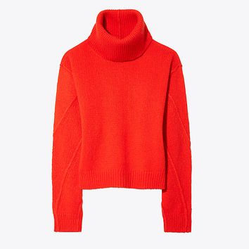 Tory Burch Eva Convertible Sweater