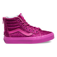 Kids Shimmer SK8-Hi Zip | Shop at Vans