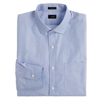 Shirt In End-On-End Cotton