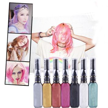 13 Colors One-time Hair Temporary Color Hair Dye