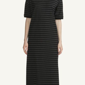 MARIMEKKO ANN NIGHTDRESS BLACK/MELANGE GREY