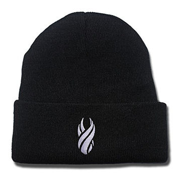 Dead Space Maker Logo Beanie Fashion Unisex Embroidery Beanies Skullies Knitted Hats Skull Caps