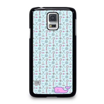 WHALE KATE SPADE PATTERN Samsung Galaxy S5 Case Cover