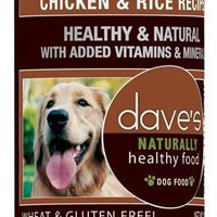 Dave's Naturally Healthy Chicken & Rice Can Dog 12/13oz