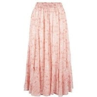 Misses Bay Studio Long Embellished Crinkle Skirt