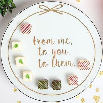 "8 Oak Lane ""From Me to You to Them"" Giving 'Plate"