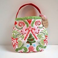 Christmas Toddler Purse Quilted boutique handmade gift